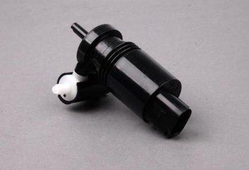 Pompa spryskiwaczy szyby przedniej: urządzenie, zasada działania, przegląd, naprawa i wymiana
