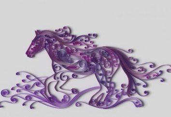 Jak zrobić konia: Quilling, master class