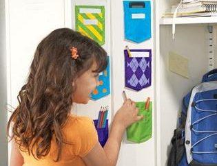 Warum brauche ich eine Tasche in einem Schließfach für den Kindergarten, und wie es selbst zu tun?