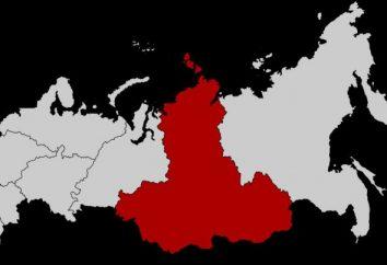 Distrito Federal Siberiano: a localização no mapa, estrutura, capital, população, e no site oficial
