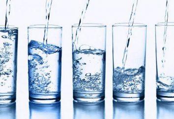 Esszimmer Mineralwasser, Name, Zusammensetzung, GOST. Kohlensäurehaltiges Mineralwasser