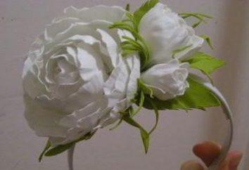 Róże z foamirana. Warsztaty robótki