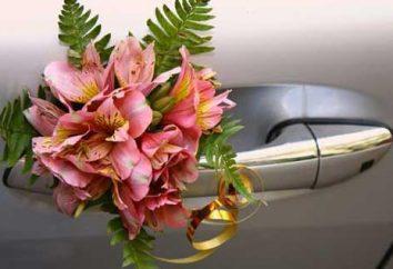 Cómo decorar el coche de la boda: original y bellas ideas