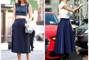 Desde o que vestir saia midi? Dicas fashionistas