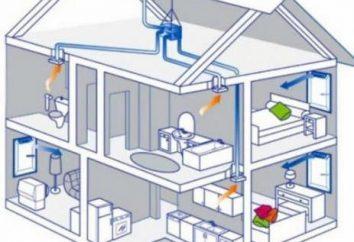 Ventilation dans la maison de cadre avec leurs mains