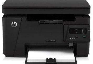 Wielofunkcyjne HP LaserJet Pro M125r: opis, cechy i recenzje