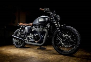 Motocykl Triumph Bonneville T100: opis, cechy i opinii właścicieli