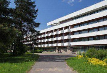 Sanatorio San Petersburgo y la región de Leningrado: La clasificación, descripción, comentarios