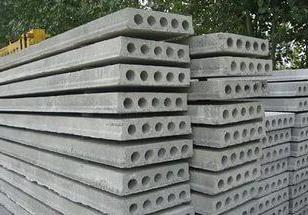 Hohlwände aus Stahlbeton. Anwendung w / w Produkte in Bau