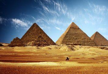 Os antigos templos do Egito. Pontos Egito: templos, palácios, fortalezas