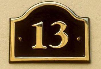 Say, 13 – un numero sfortunato. Perché?