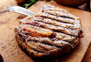 Rampe steak et en particulier la cuisine