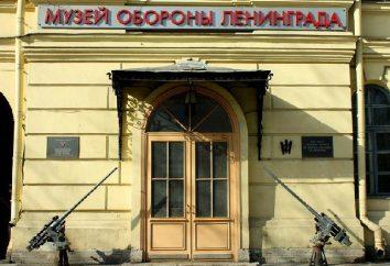 Museu do Cerco de Leningrado. O Museu Memorial da Defesa e do cerco de Leningrado