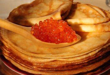 Cozinhar panquecas na Ryazhenka