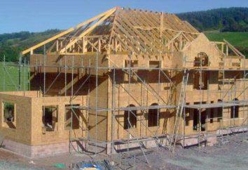 Decoração de interiores de casas de painéis SIP. Construção de SIP-casas