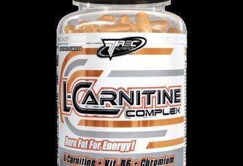 """Producto """"L-carnitina"""". Revisión de los quemadores de grasa"""