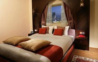 Albergo Auris Metro Central Hotel Suites 4 * a Dubai.