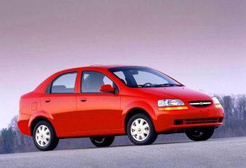Dane techniczne Chevrolet Aveo T200