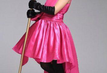 vestido de baile para meninas com suas mãos. vestido de baile Pattern