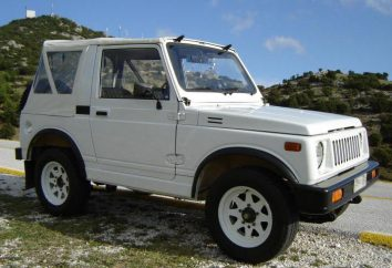 """""""Suzuki Samurai"""": najciekawsze rzeczy o japońskiej kompaktowego SUV"""