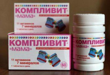 """Vitaminas para Mulheres da """"mamã"""" ( """"Complivit""""): Avaliações de guia"""