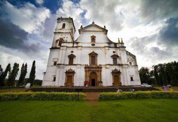 Old Goa. Katedra św Katarzyny – główny kościół katolicki w Indiach
