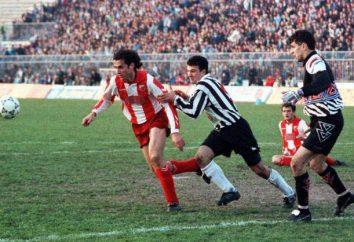 Jugosłowiańska piłkarz i trener Miodrag Bozhovich