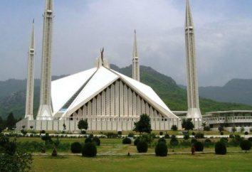 A maior mesquita do mundo Shah Faisal