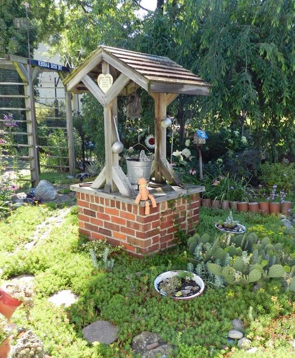 Cómo Hacer Un Pozo Decorativo Para El Jardín Con Sus Propias