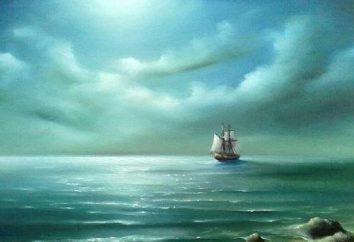 Motywy samotności w tekstach Lermontova: plan kompozycji