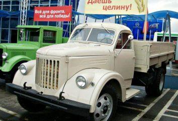 UralZIS- 355M: spécifications. Camion. Automobile Ural usine du nom de Staline