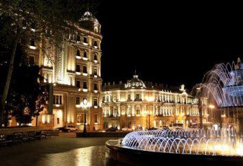 République d'Azerbaïdjan: la ville et une brève description