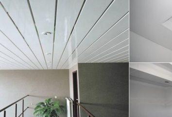 Come impostare soffitti di pannelli di plastica, giusto?