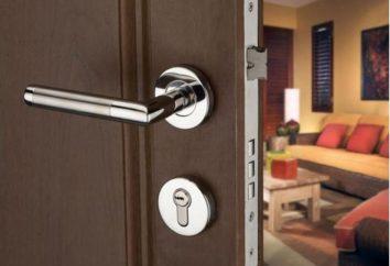 bloqueio caixa na porta de metal: tecnologia, ferramentas