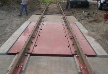 échelles ferroviaires: Caractéristiques, l'arrangement et l'assemblage
