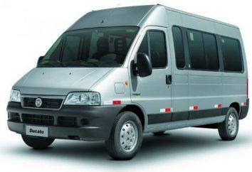 """Vans """"Fiat"""" et leurs modifications"""