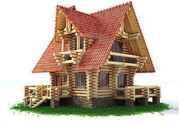 Montaż okien w drewnianym domu z rękami