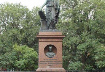 Pomnik Karamzin w Uljanowsk: Opis i zdjęcia