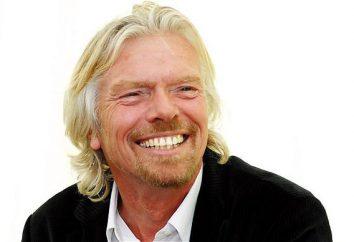 Richard Branson: biographie et les meilleures citations d'un homme d'affaires