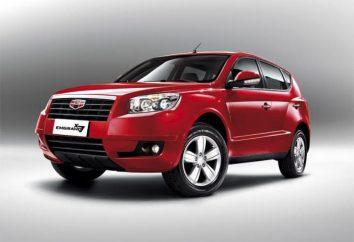 """""""Geely Emgrand x7"""" – przeglądy właścicieli. Chińskie samochody """"x7"""" Geely Emgrand"""
