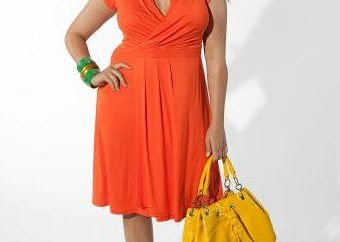 Moda letnia sukienka dla kobiet otyłych