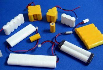 Jakie są baterii niklowo-kadmowych