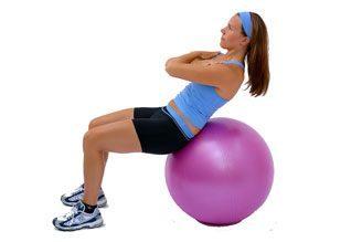 exercícios eficazes para fitbol emagrecimento