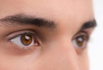 Bonito e original sobre o estado do olho