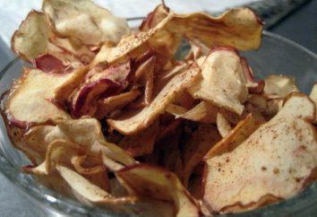 Comme des pommes séchées au four pour l'hiver?