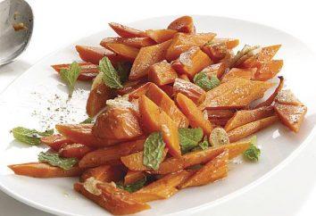 zanahorias guisadas: cómo preparar y lo que está complementado
