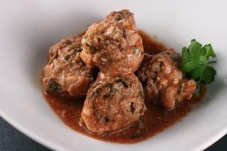 boulettes de viande à la cuisson multivarka