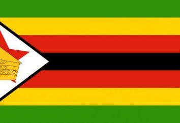 Zimbabwe: flaga i herb tego kraju