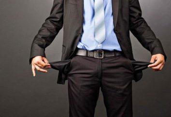 Come andare in bancarotta nat. viso, SP, banche? Come andare in bancarotta e perdere l'appartamento?
