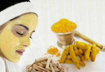 Masque de moutarde. masques du visage à la maison